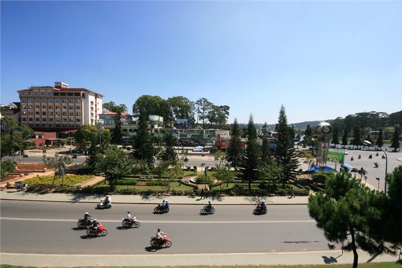 Dalat City in a sunny day