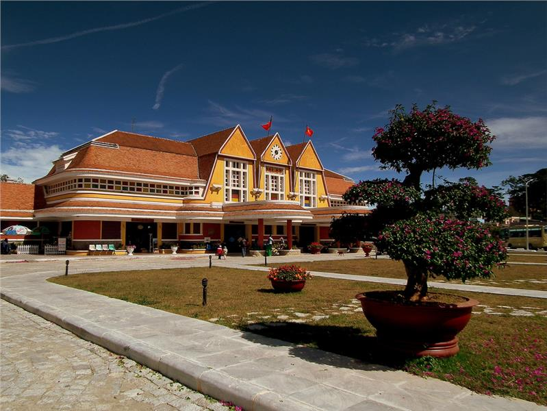 A corner of Dalat Train Station