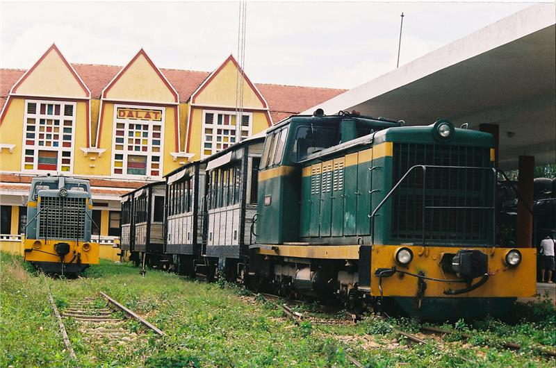 Inside Dalat Railway Station