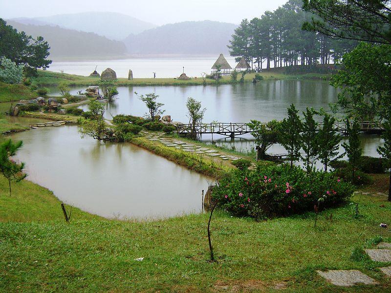 Dankia Lake - Golden Stream in the morning mist