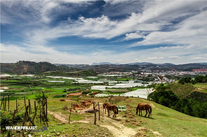 Lang Biang mountain in Dalat