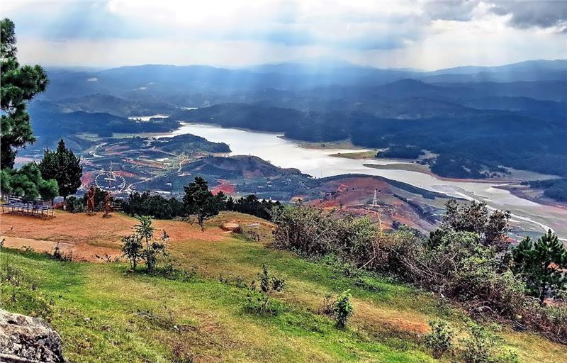 View from Lang Biang Mount - Dalat