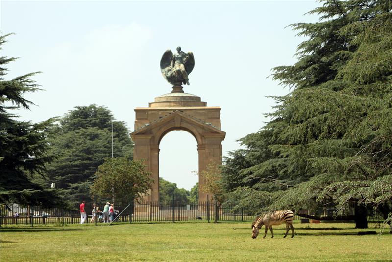 Đài tưởng niệm chiến tranh ở Johannesburg