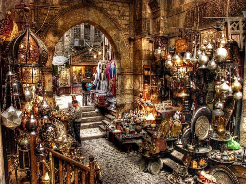 Mua sắm ở Cairo