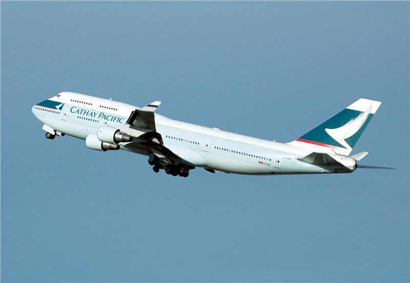 Cathay Pacific B747-400
