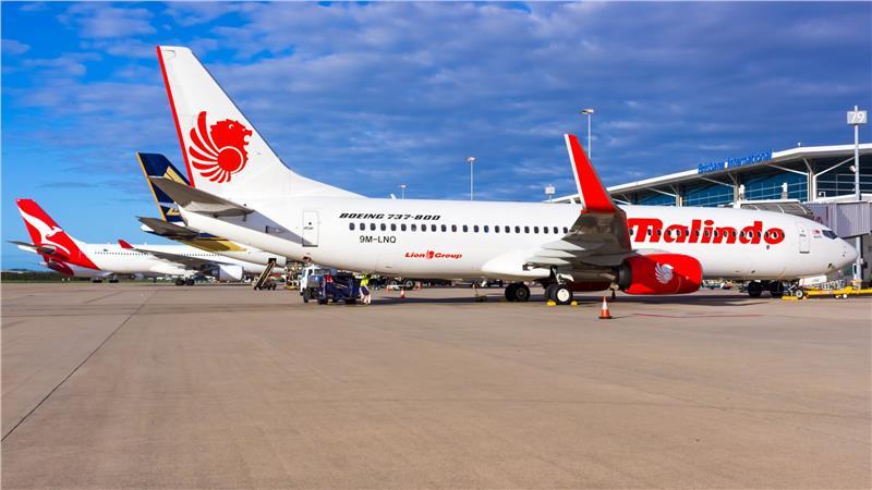 Malindo Air aircraft