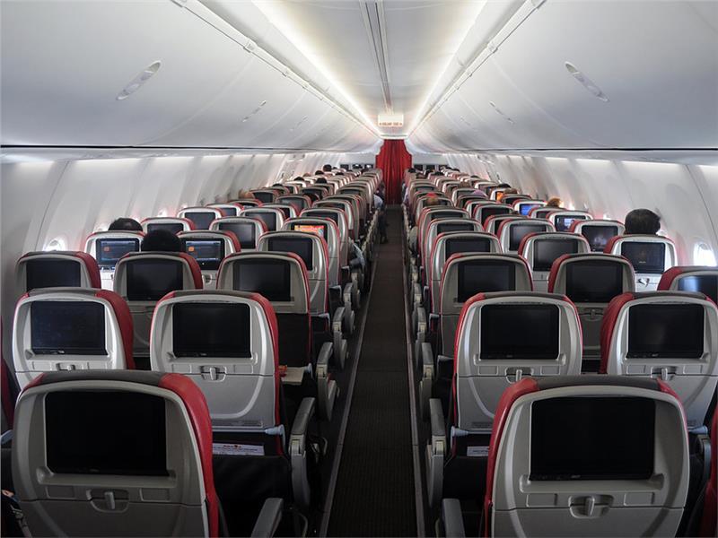 Malindo Air inside air craft