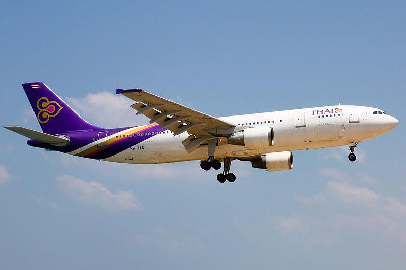 Thai Airways A300 HS-TAS