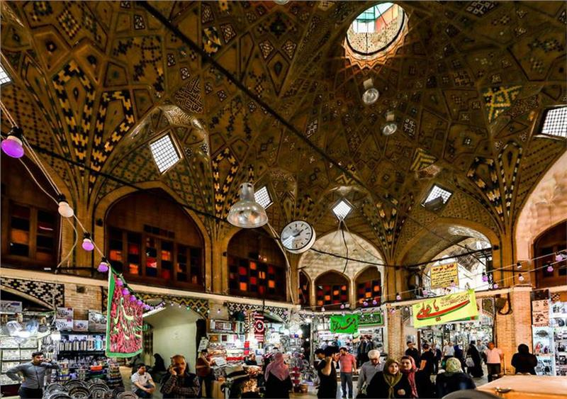 Chợ Tehran Grand Bazaar