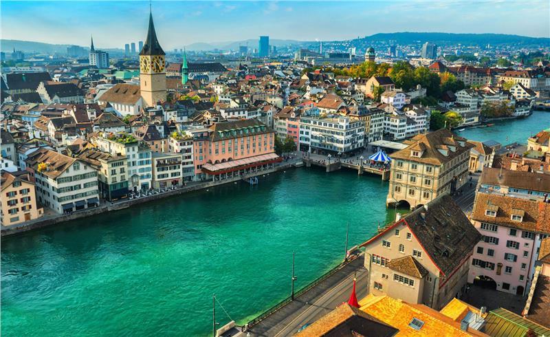 Vé máy bay đi Zurich