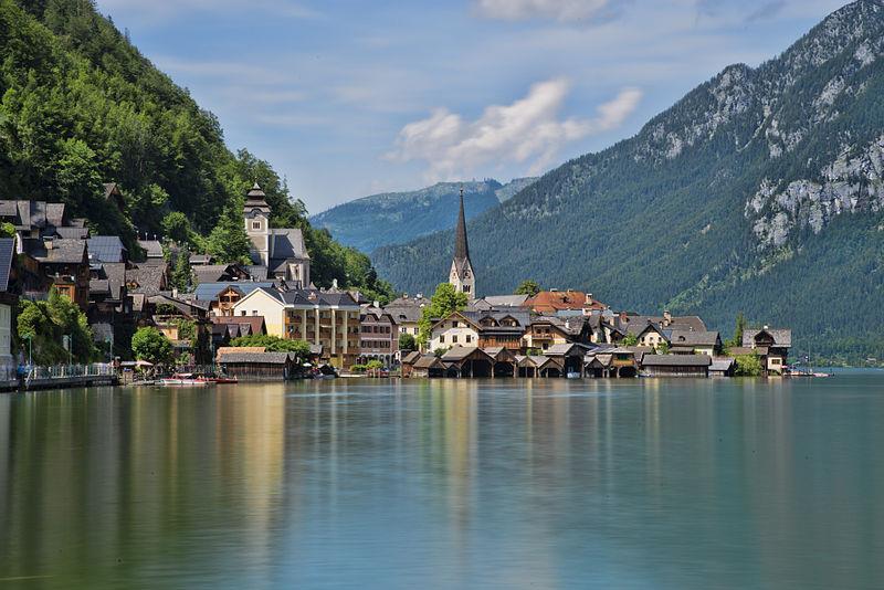 Làng Hallstatt ở Áo