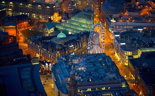 Manchester về đêm
