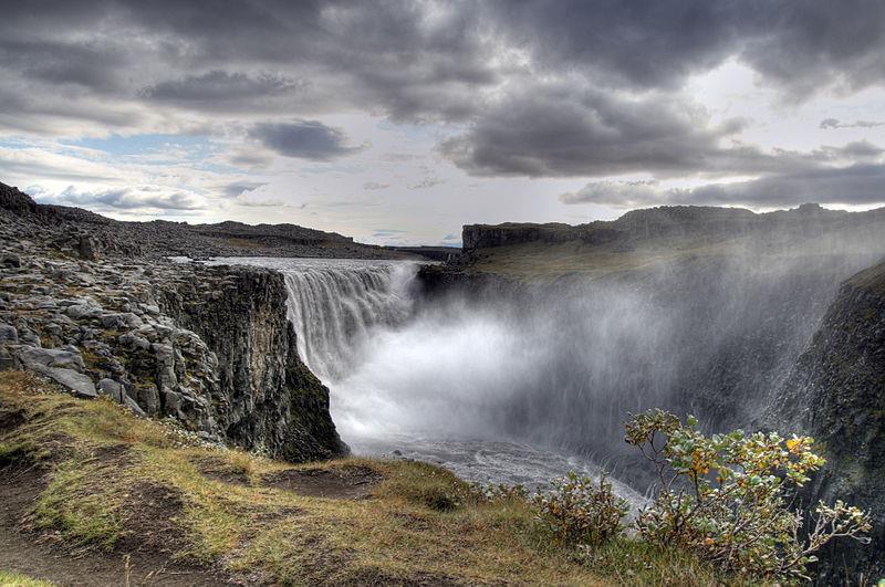 Thác Dettifoss, Iceland