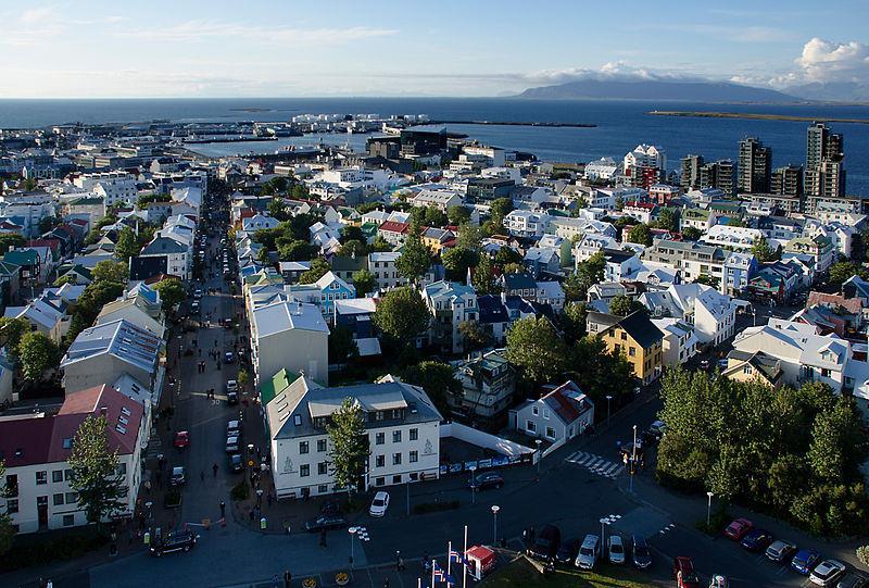 Thủ đô Reykjavik, Iceland