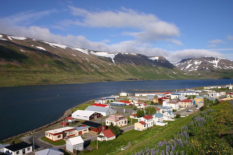 Suthureyri ở Iceland