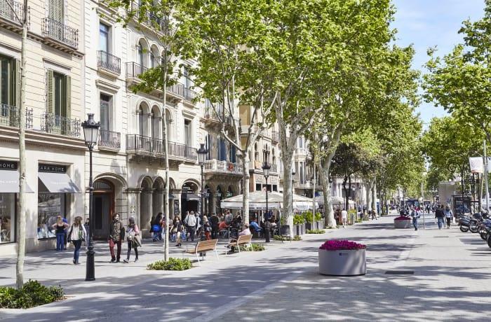 Mua sắm ở thành phố Barcelona