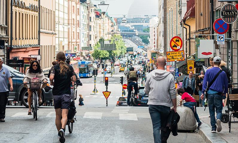 Mua sắm ở Stockholm