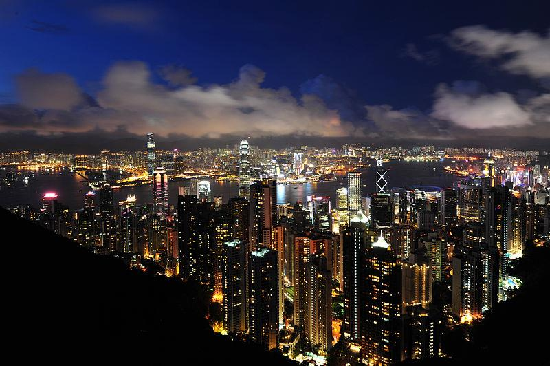 Hồng Kông lung linh ánh đèn