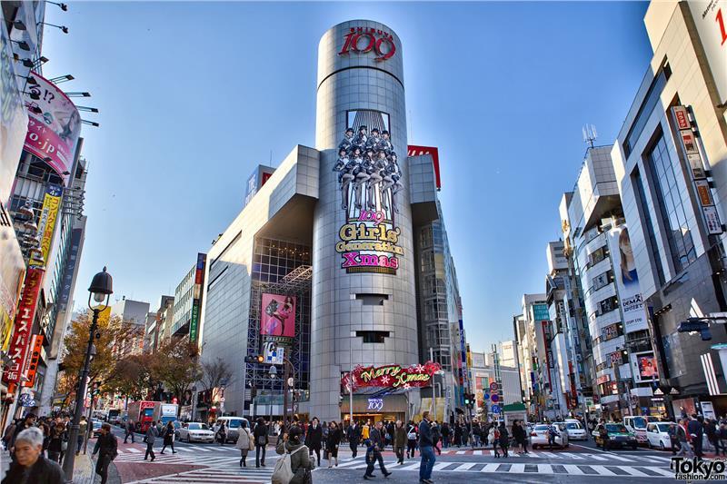 Khu mua sắm Shibuya
