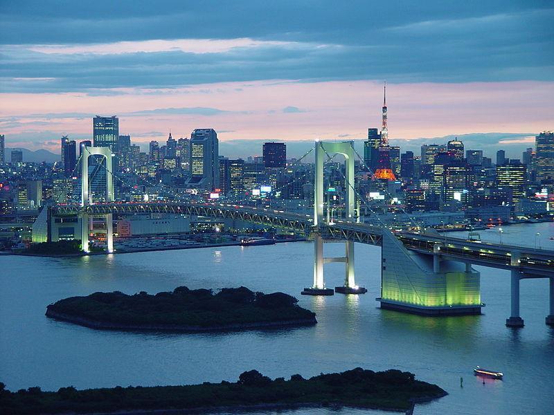 Cầu Cầu Vồng ở Tô-ky-ô, Nhật Bản