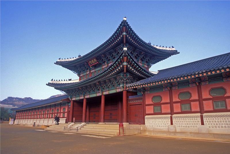 Cung Gyeongbok ở Sê-un