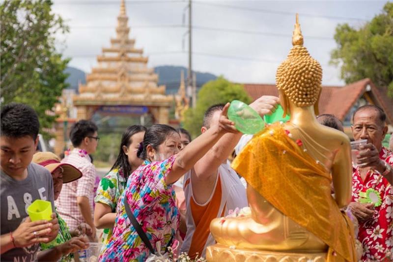 Chiang Mai là nơi lý tưởng nhất để tham gia và khám phá lễ hội té nước