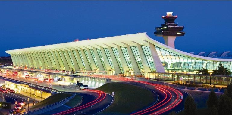 Bên ngoài sân bay quốc tế Đào Viên Đài Loan