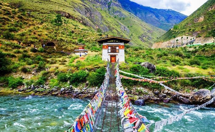 Vé máy bay đi Thimphu