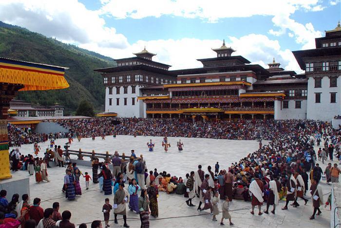 Tu viện Tashichho Dzong