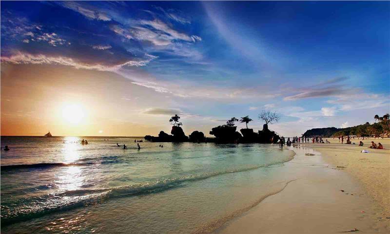 Khung cảnh đẹp đến nao lòng của Boracay