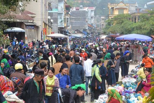 Chợ phiên Hoàng Su Phì