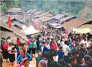 Khau Vai Love Market Festival 2015 in Ha Giang