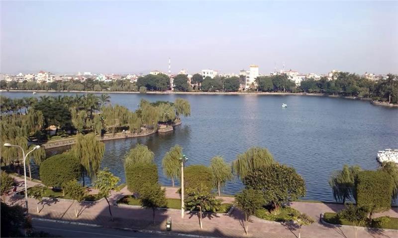 Bach Dang Lake in Hai Duong