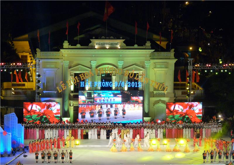 Red Flamboyant Festival in 2012
