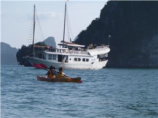Dragon Pearl Junk Halong Bay