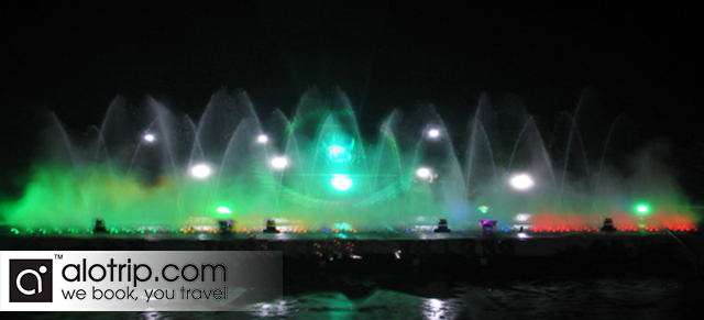 Music Water Fountain Show   in Tuan Chau Island