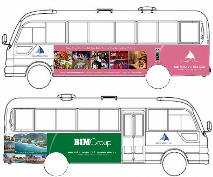 Free shuttle bus in Halong