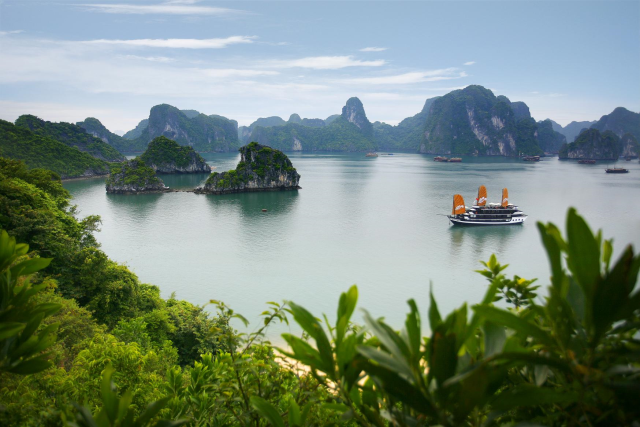 halong panoramic view