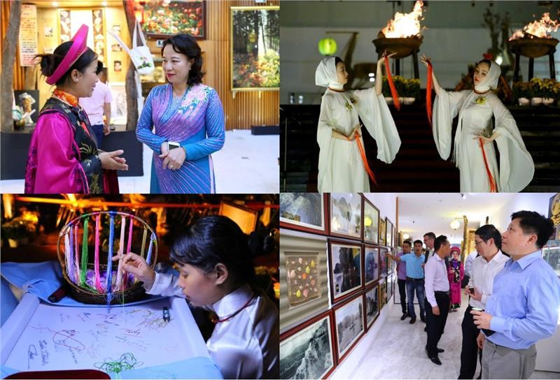 Activities in the exhibition