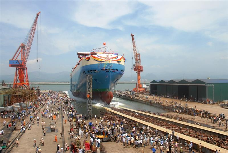 Ship building plays a key role in Halong economy