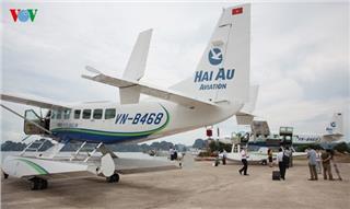 Halong Bay seaplane tour at discounted price
