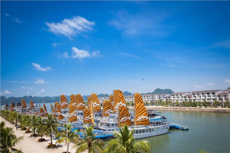 Tuan Chau tourist wharf