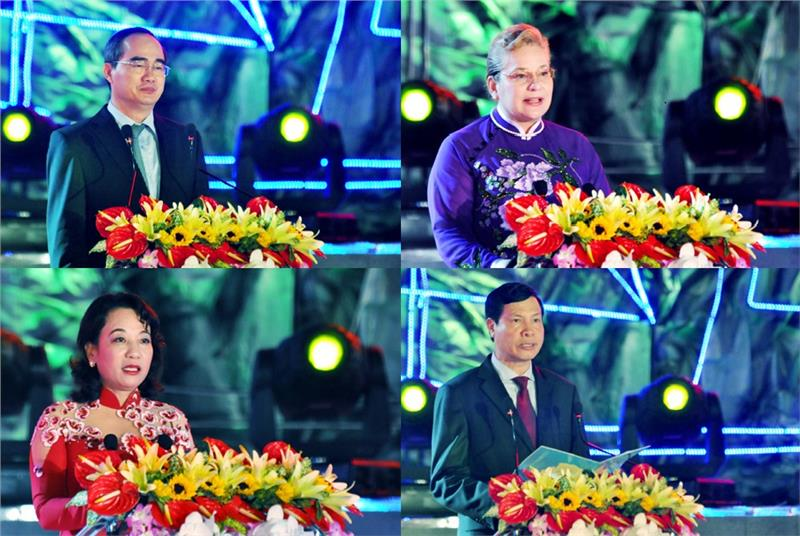 Vietnamese Leaders and UNESCO Chief Representative