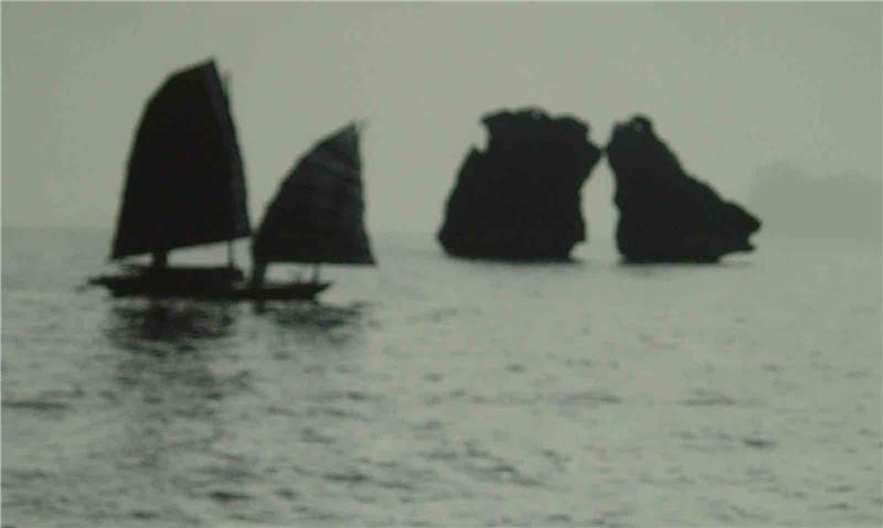 A photo of Halong in the past