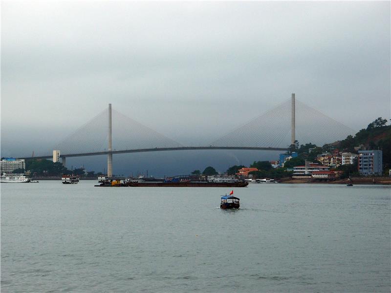 Bai Chay Bridge in Hạ Long City
