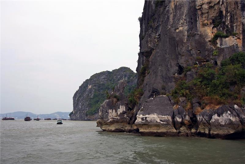 Charming scenery at Cho Da Islet