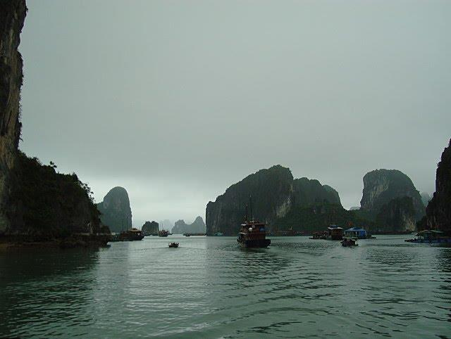 On the way to explore Cho Da Islet