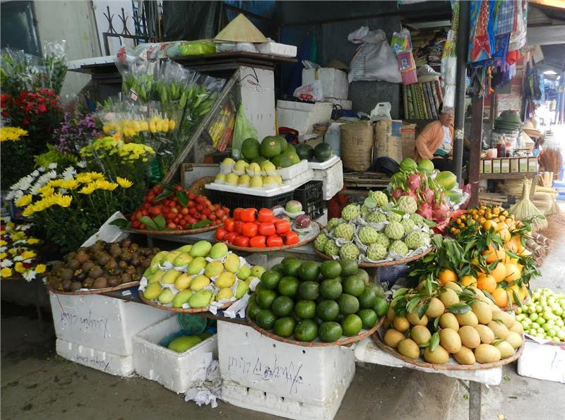 Fruits at Halong Market