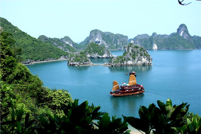Halong Bay Panorama