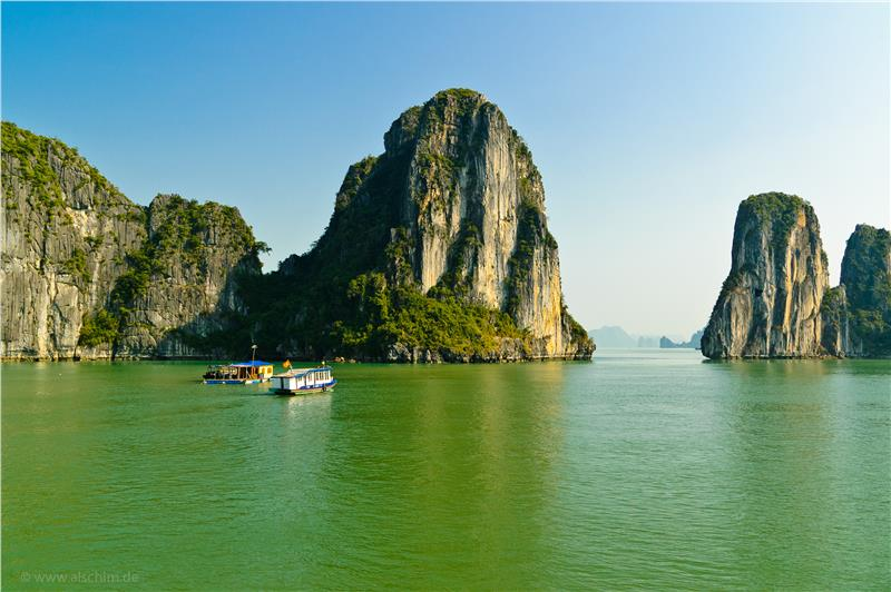 Halong Bucht - Halong bay